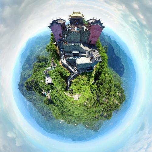 武当山风景区全景导览