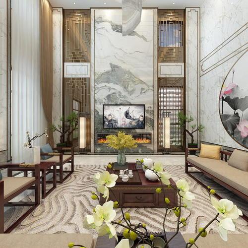 中式别墅设计效果图案例