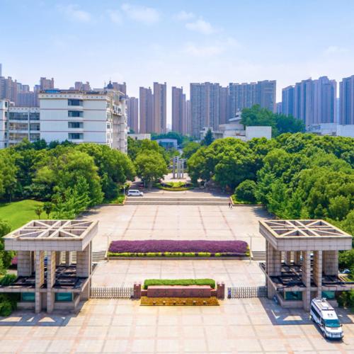 武汉纺织大学航拍VR全景