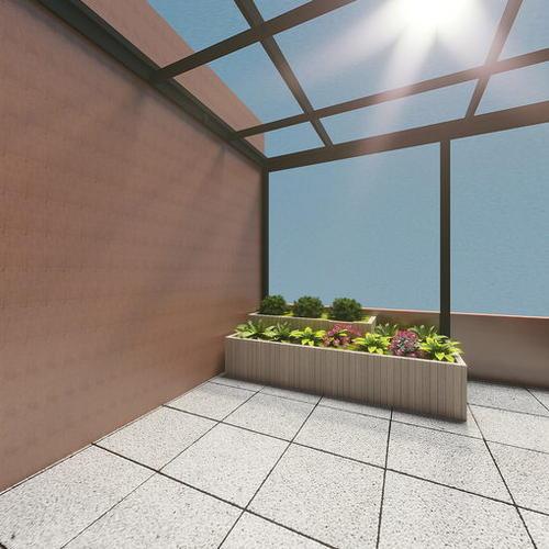 大龙湾楼中楼二楼阳台