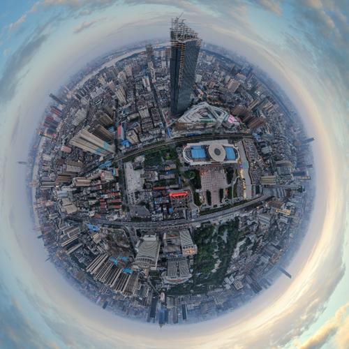 汉口中心航拍VR