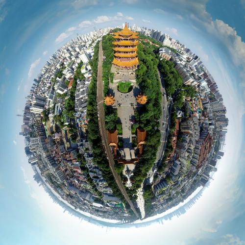 全景武汉-武汉全景VR城市名片