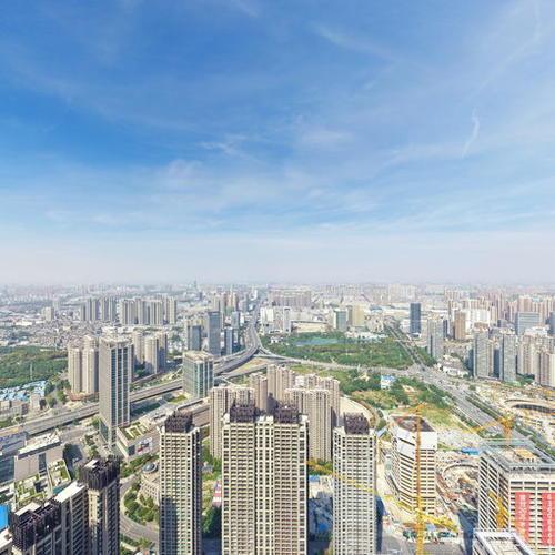 武汉泛海国际航拍全景图