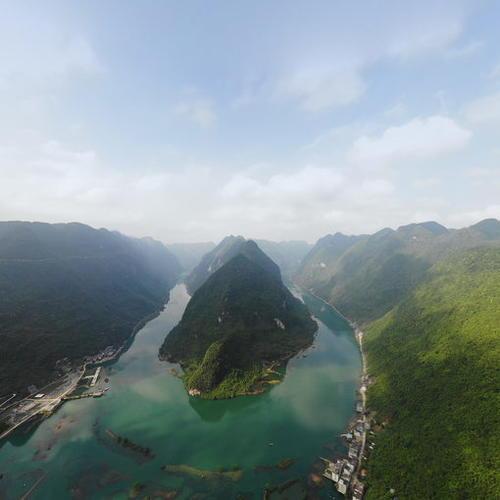 红水河第一湾风光