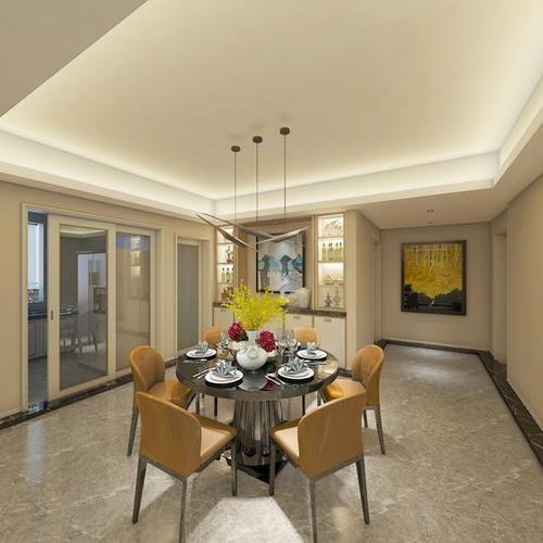 现代客厅全景----设计:朱元璋