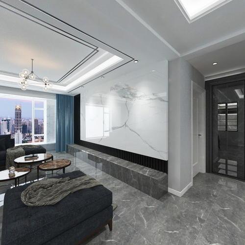现代风格 标准两居室
