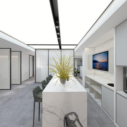 湖北叁加商业设计宜昌万达办公室