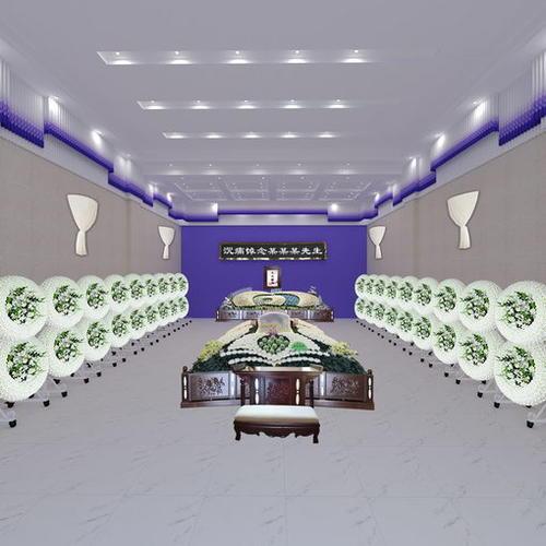 浙江省义乌市殡仪馆中厅设计图