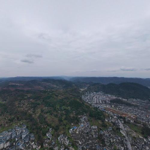 凤凰古城全景图1