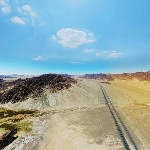 青海甘肃新疆界:当金山