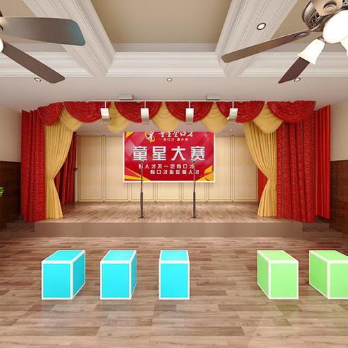童星大赛表演室