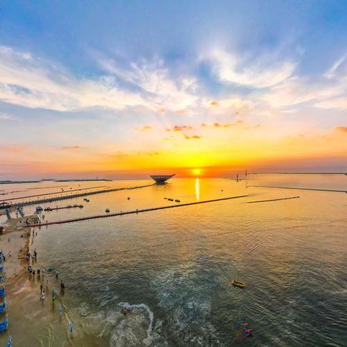 鲅鱼圈山海广场