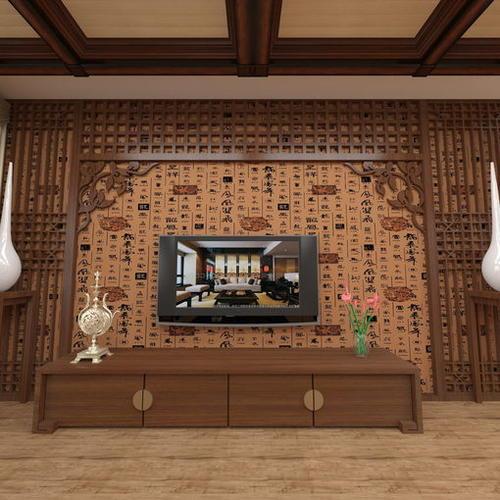 中式客厅厨房
