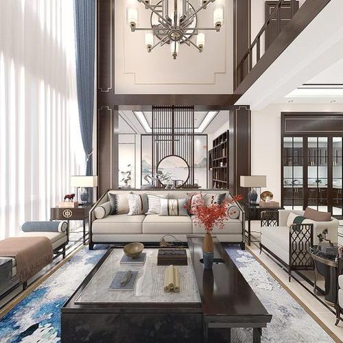 芭东海城新中式--乾羽室内设计