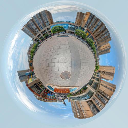五天广告策划全景VR展示