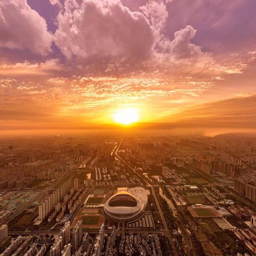 俯瞰驿城VR全景图