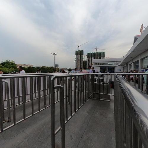 邯郸车务段邢台站站前广场全景图