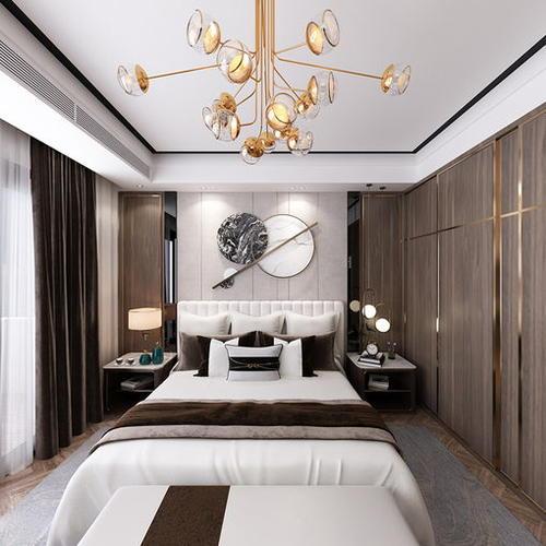 新中式别墅三楼空间设计