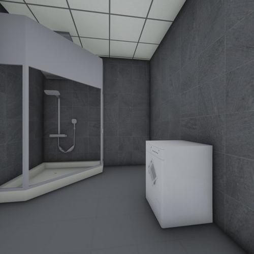 卫生间全景图