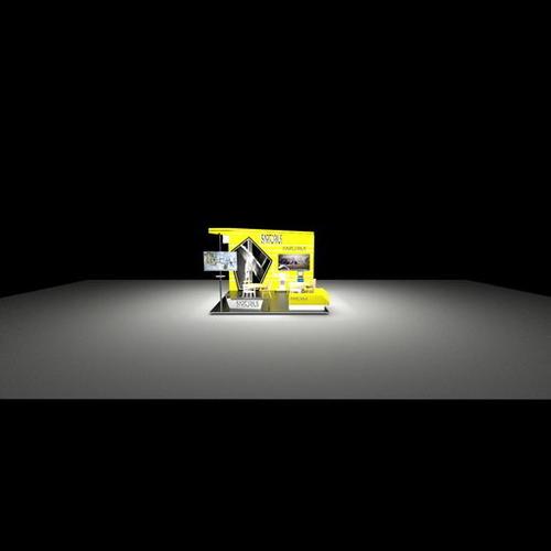 6x6生物科技展展位设计