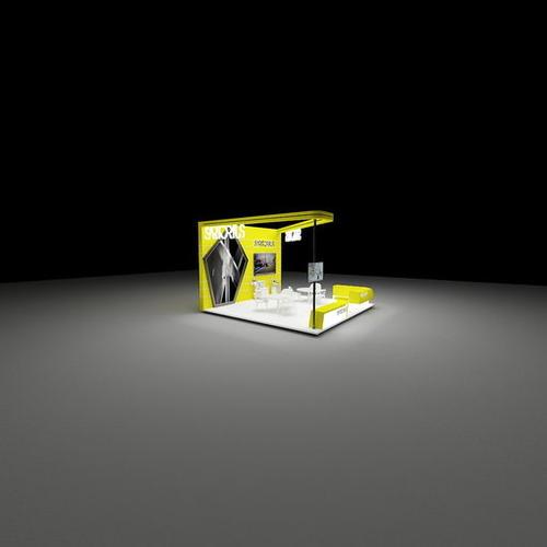 6x6生物科技展展位设计.